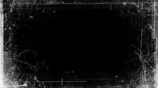 Grunge Video Frame