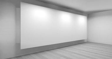 """Картина, постер, плакат, фотообои """"clean art gallery space """", артикул 103594056"""
