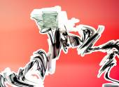 Fotografia spruzzi di vernice colorata