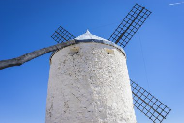 Cereal mills mythical Castile in Spain, Don Quixote, Castilian l