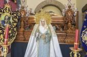 Fotografie Panny Marie v kostele