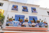 Photo balconies with flamenco dresses in Marbella