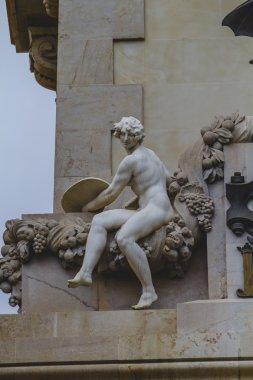 Sculptures of angels