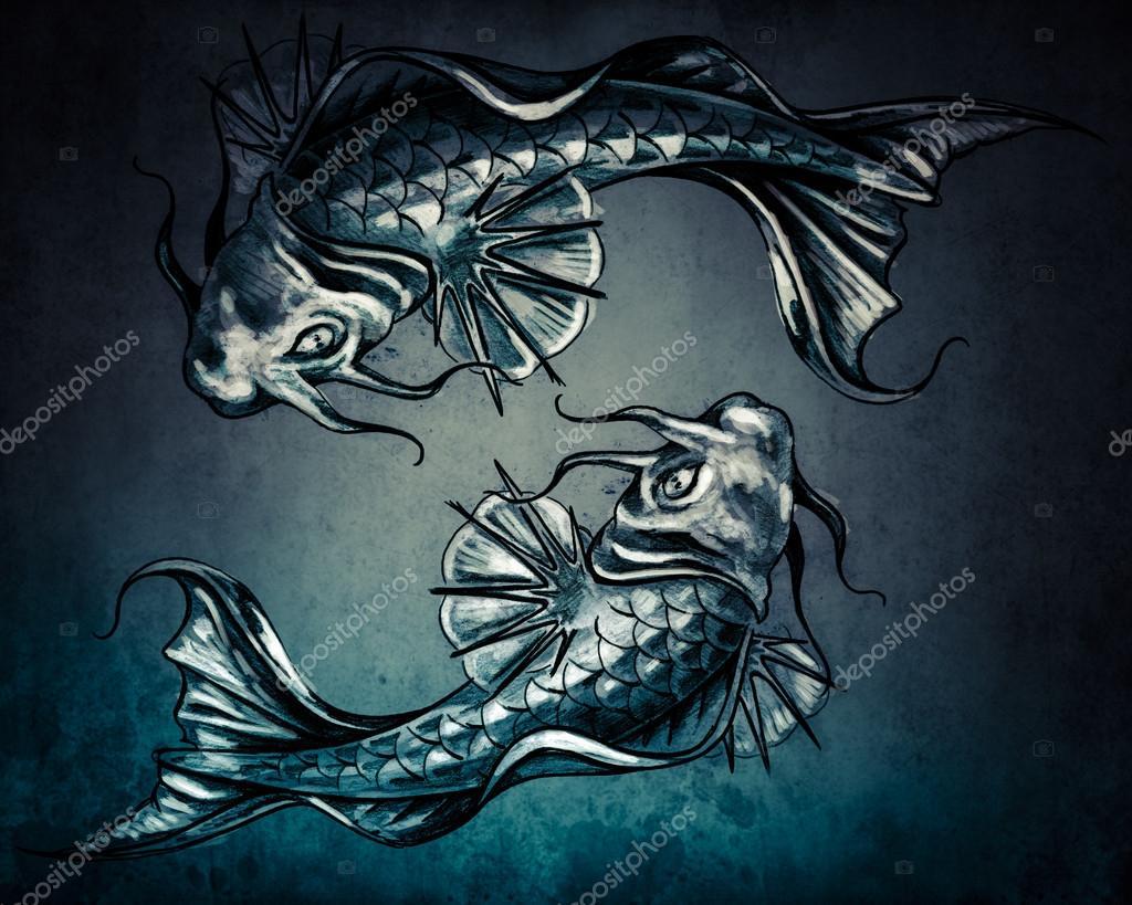 Imágenes Dualidad Tatuaje Del Concepto De Dualidad Foto De