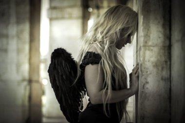 Sensual fallen angel