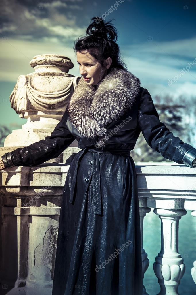 Something Russian women in fur coats