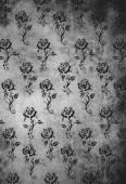 Rózsa formatervezési minta tetoválást antik könyv