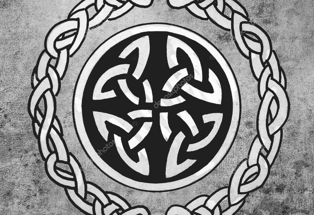 Bouclier Celtique Croquis De L Art De Tatouage Dessin D Ornement