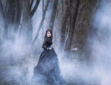 Princess in a dark forest