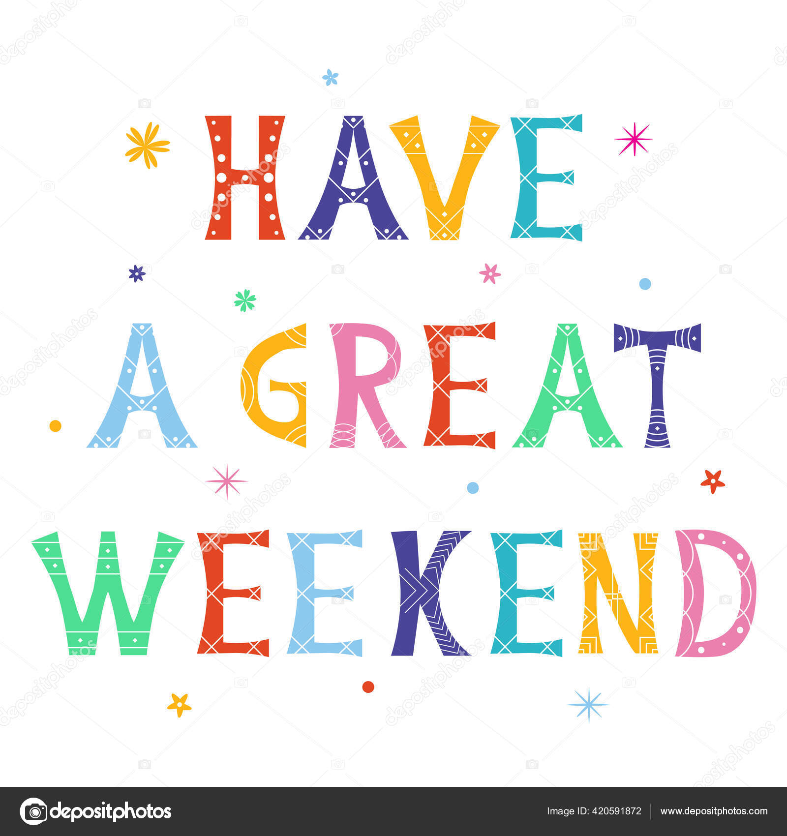 ᐈ Have A Nice Weekend Stock Images Royalty Free Have A Good Weekend Vectors Download On Depositphotos