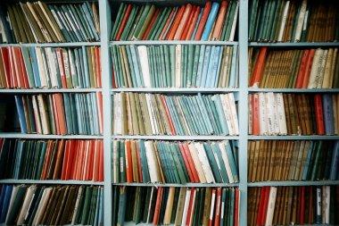 bookshelves concept of archive