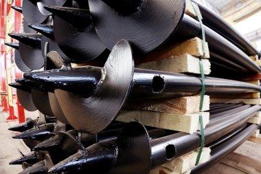New iron piles