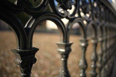 Forged lattice fence