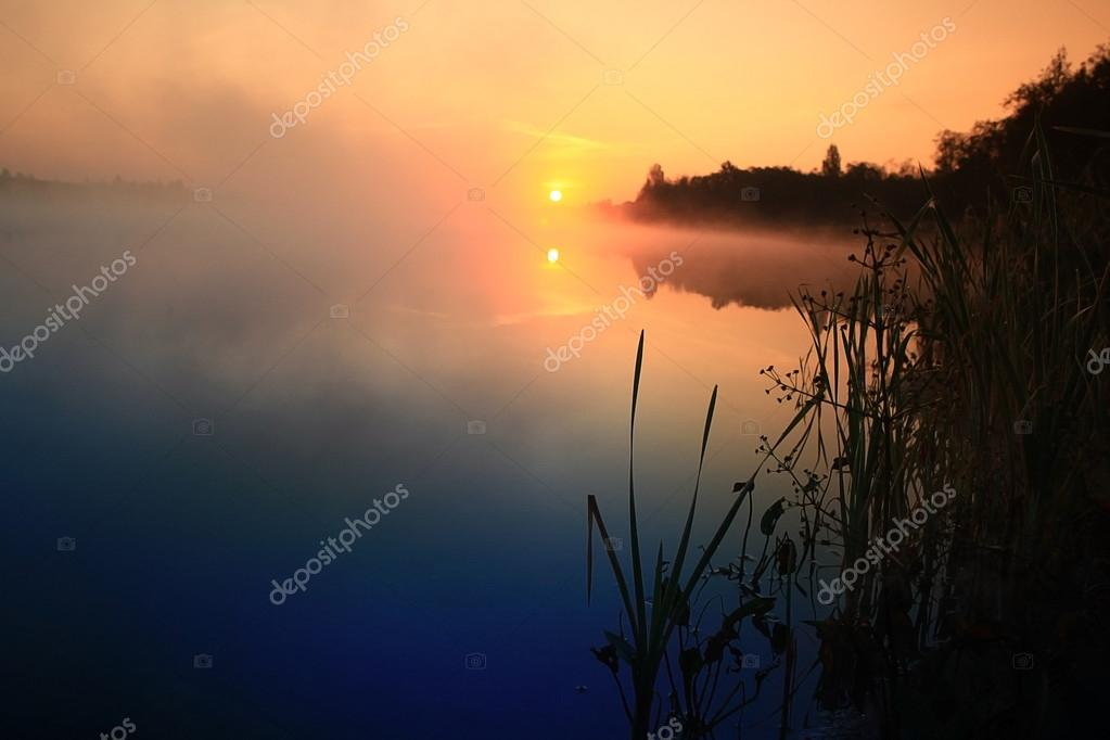 Sunrise lake