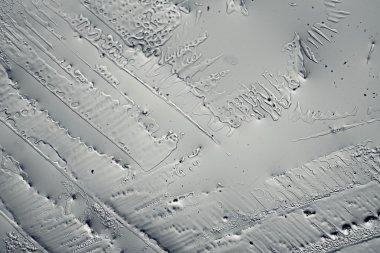 Frozen ice texture background