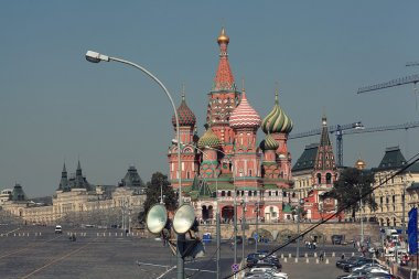 Moscow kremlin view