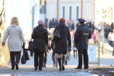 Russian police officers