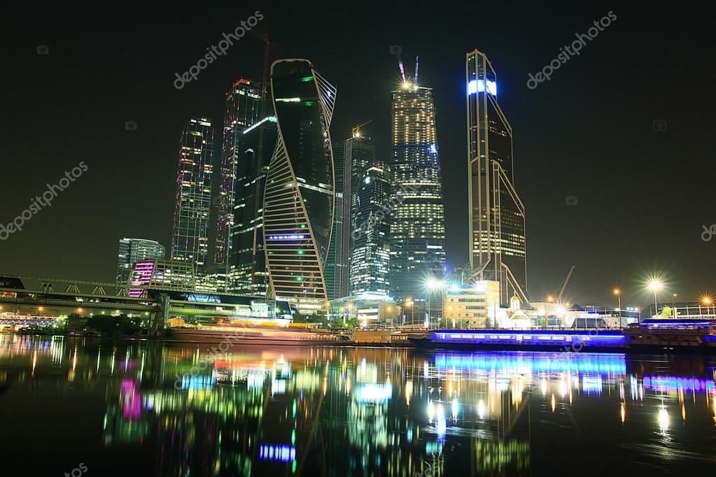 Urban Moscow city landscape