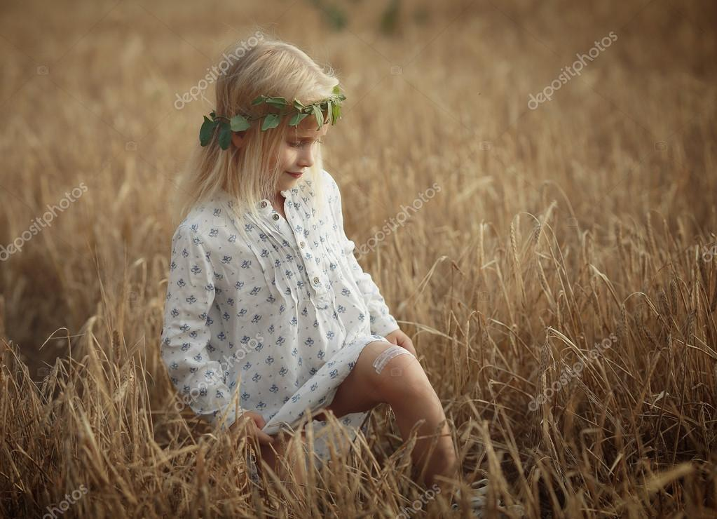 blonde little girl