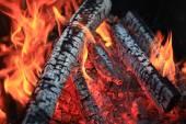 uhlíky ohněm Fire
