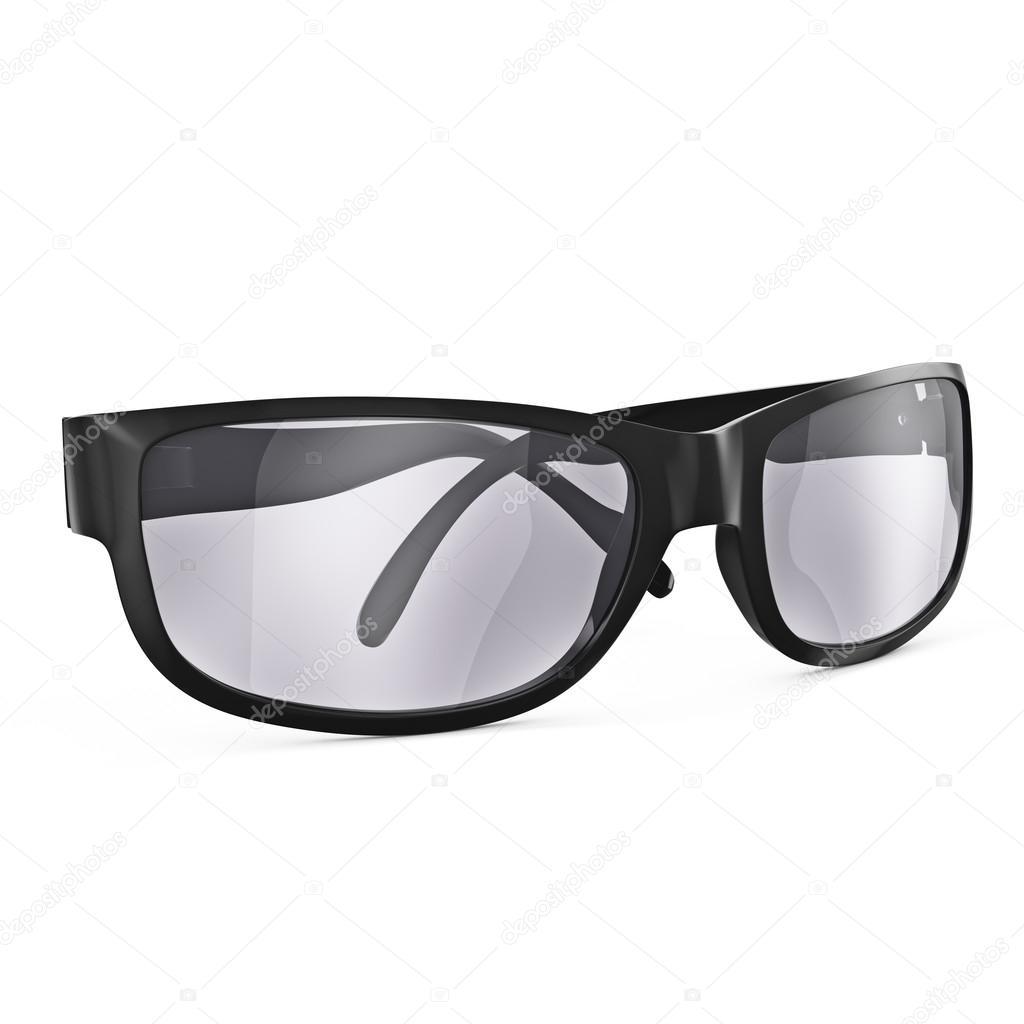 Black framed glasses — Stock Photo © ARTYuSTUDIO #72240133