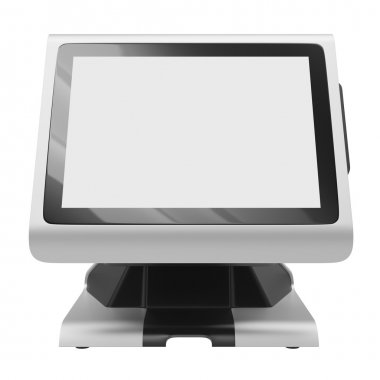 Display terminal front view