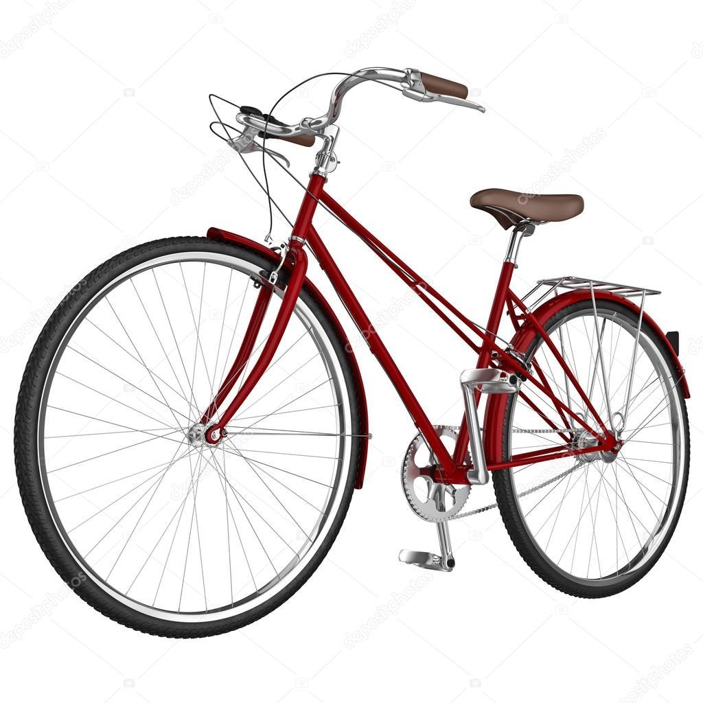 Klassische Fahrradrahmen. 3D-Grafik — Stockfoto © ARTYuSTUDIO #82276276