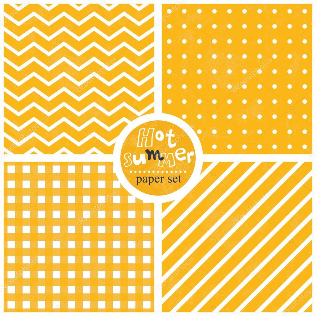 checkered sunny yellow white seamless