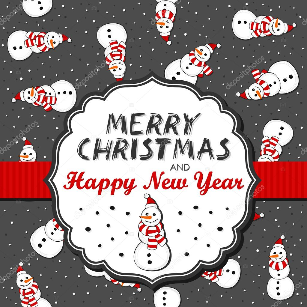 Muñecos de Santa Claus sombreros desordenado de Navidad invierno ...