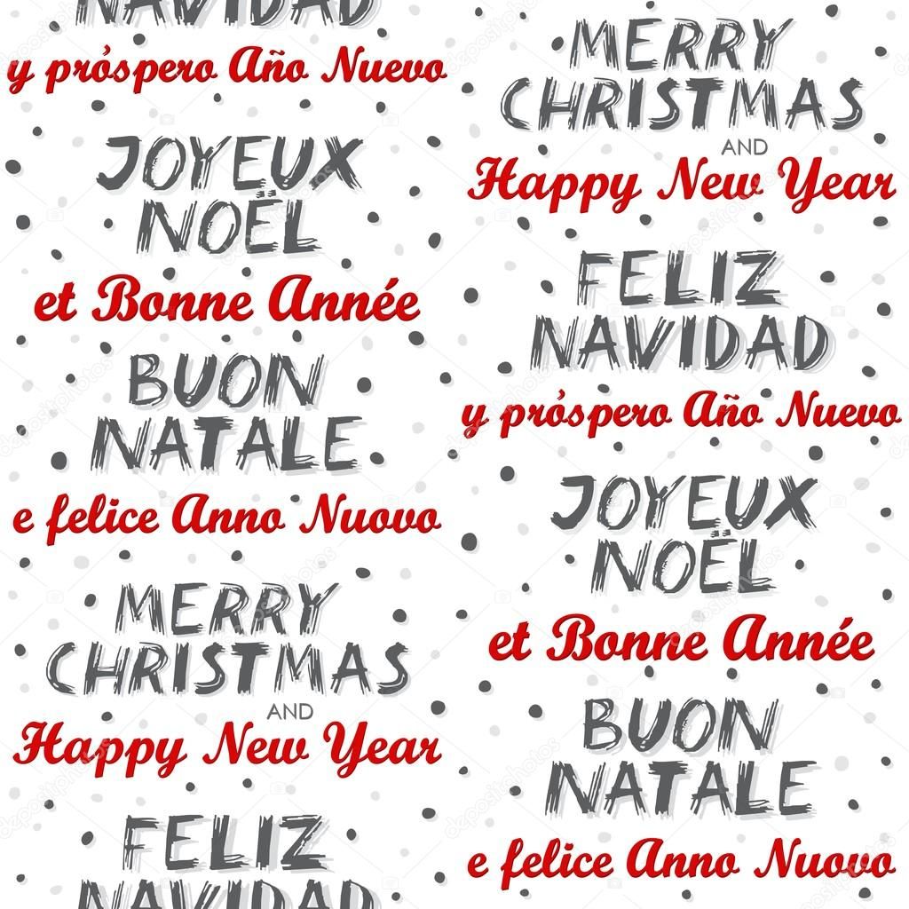 merry christmas and happy new year in english spanish. Black Bedroom Furniture Sets. Home Design Ideas