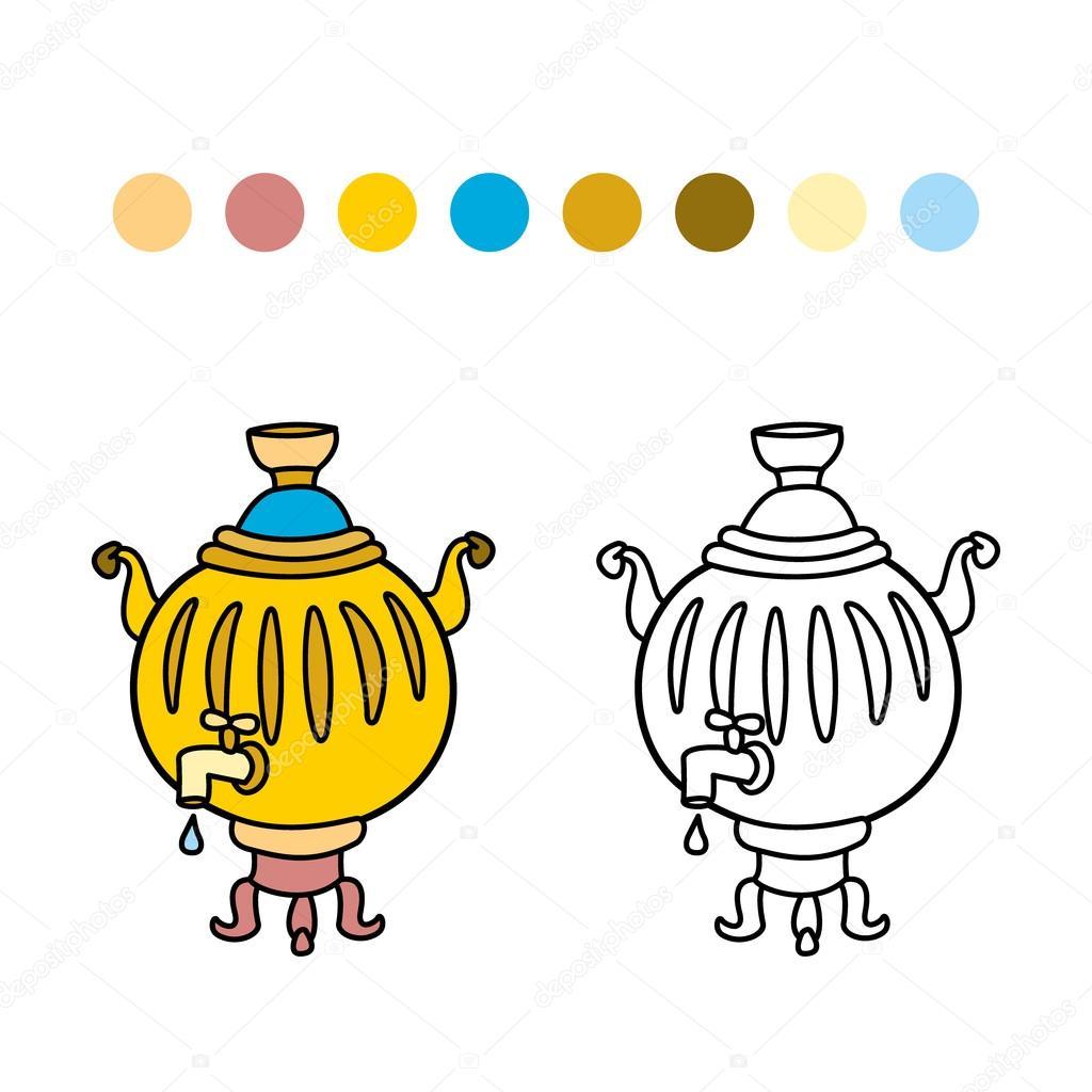 самовар раскраска самовар раскраска детские раскраски