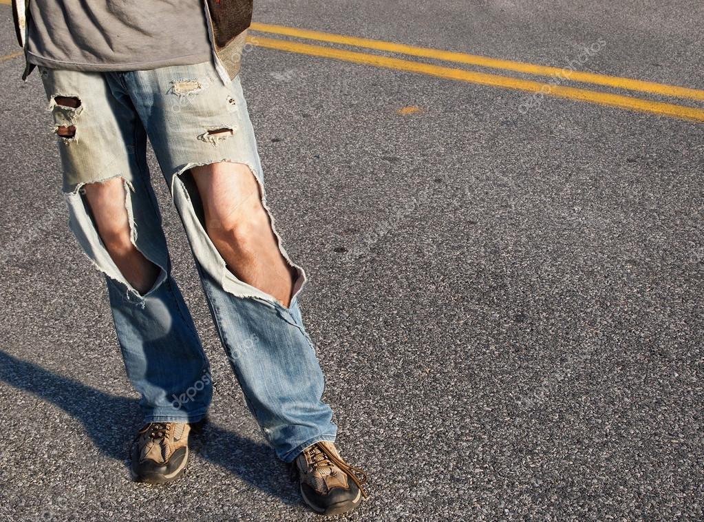 Áˆ Pantalones Rotos Imagenes De Stock Fotos Jeans Rotos Descargar En Depositphotos