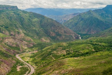 Canyon of river Chicamocha