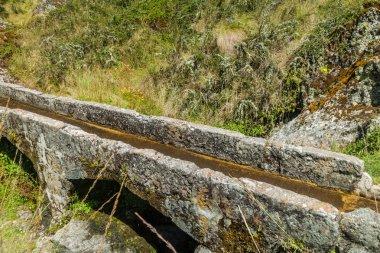 Cumbe Mayo - pre-Inca aqueduct 2000 years old, 9 km long. Northern Peru near Cajamarca.