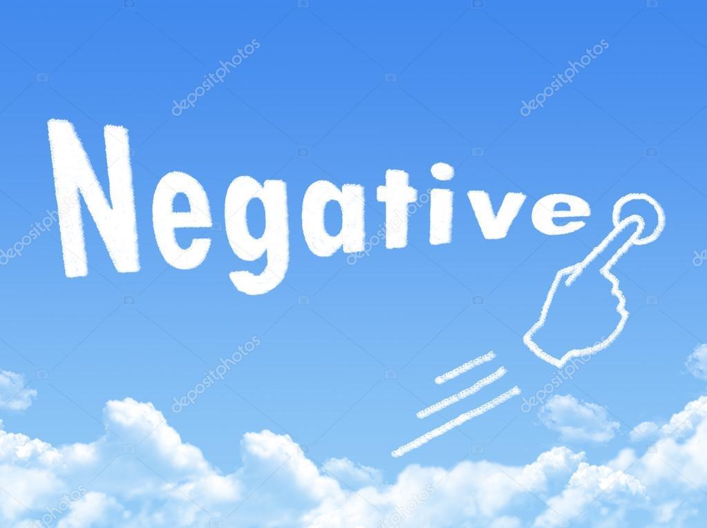 Negative message cloud shape stock photo paisan191 81392162 negative message cloud shape stock photo thecheapjerseys Images