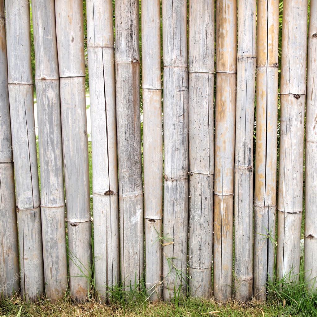 bambuszaun hautnah — stockfoto © paisan191 #88831996