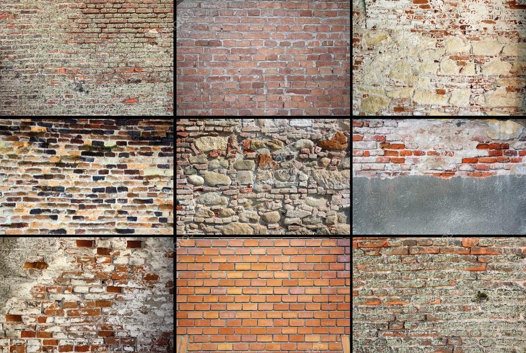 Texturas de paredes de ladrillo meteorizada viejo fotos - Texturas de paredes ...