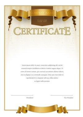 Modern Certificate and diplomas template.