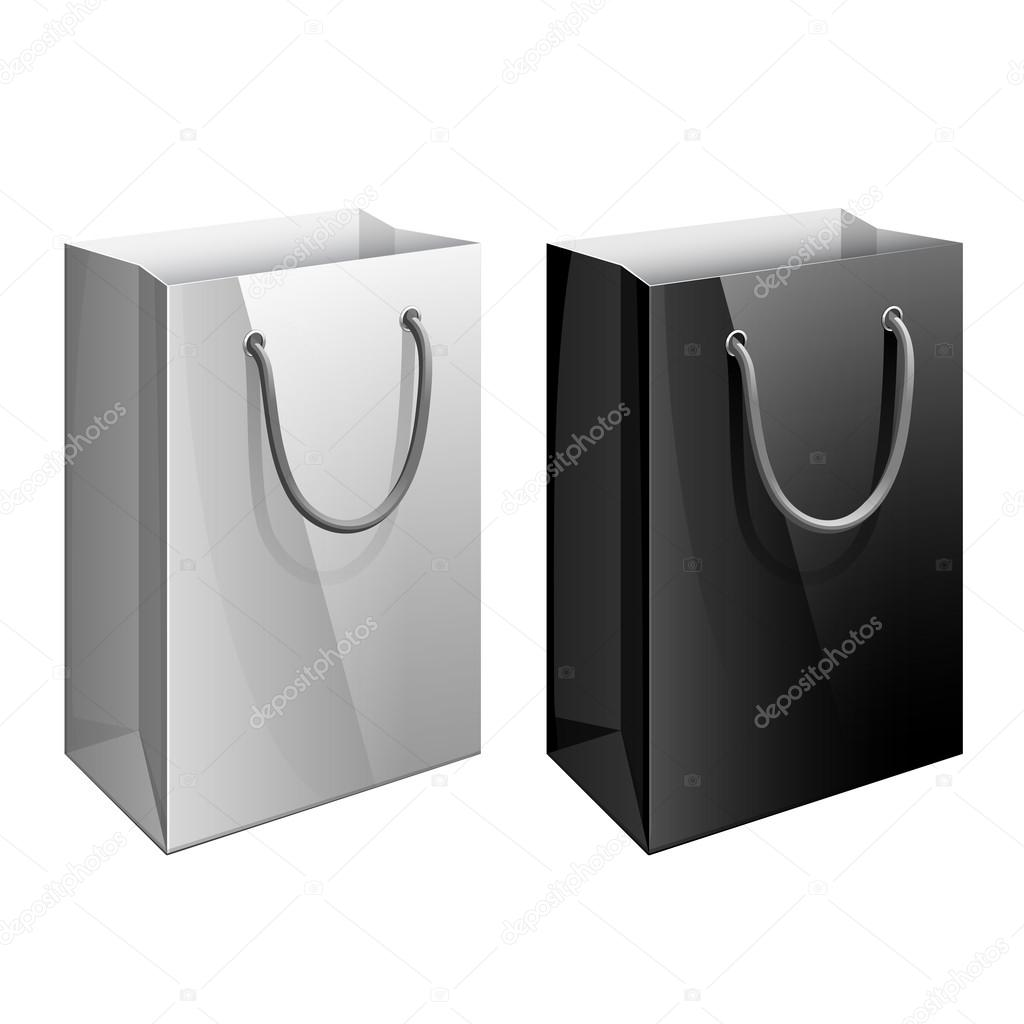 paper bag template for the design stock vector sooolnce 109076914