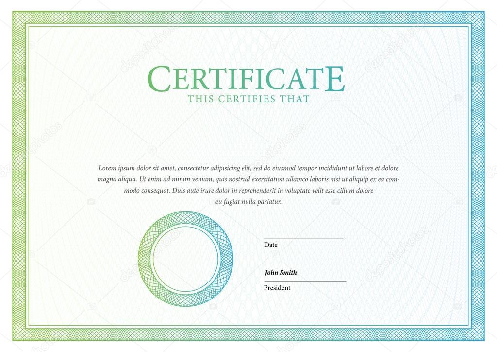 Zertifikate und Diplome-Vorlage — Stockvektor © Sooolnce #124131448