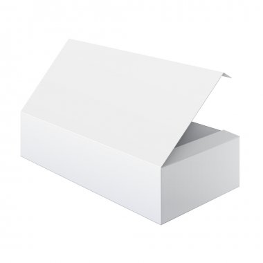 White Box Opened For electronic device