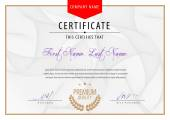 Photo Modern Certificate. Template diplomas, currency. Vector