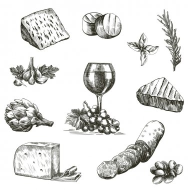natural products sketches