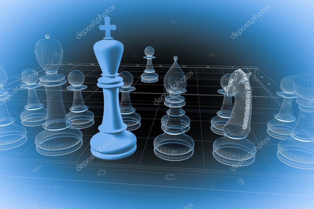 estructura de la carrocería de ajedrez — Foto de stock © Podsolnukh ...