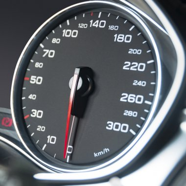 Car speedometr dashboard