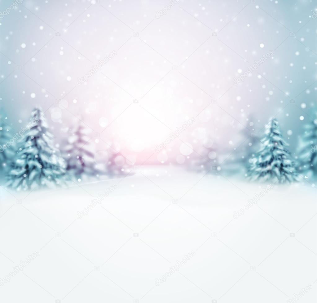 Фотообои Скоро зима