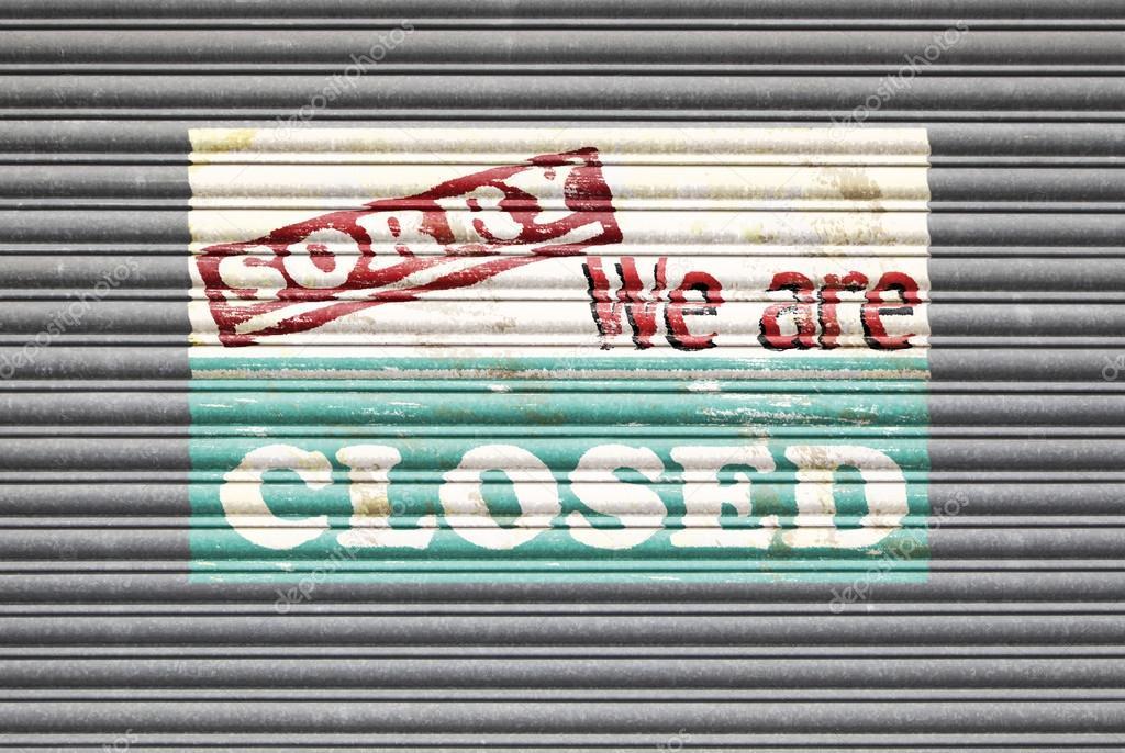 Closed Shop Sign — Stock Photo © eyematrix #81639076
