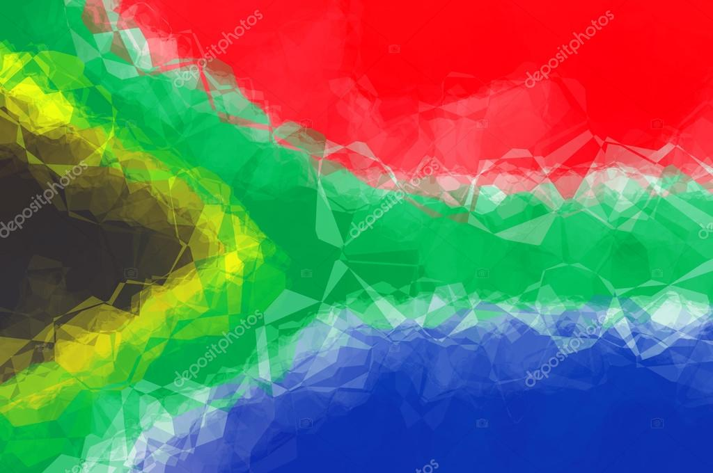 South African Flag Wallpaper South African Flag Stock