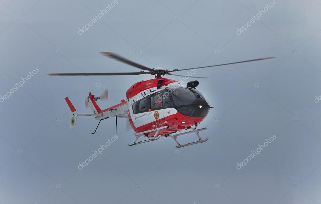 ユーロコプター ec145 救助ヘリコプター ストック編集用写真 dragunov