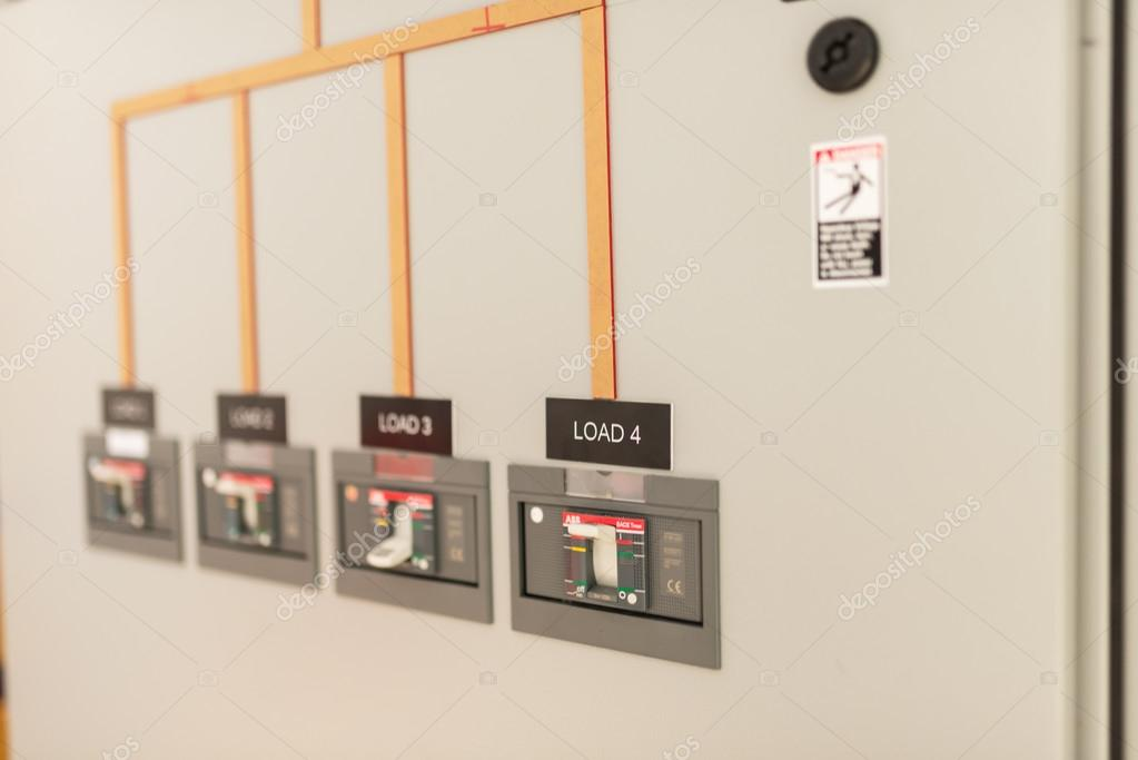 Electric outdoor fuse box in soft light — Stock Photo ... on fire indicator box, fire pump box, fire starter box, fire tube box, fire fox box, fire hose box, fire cable box, fire red box,